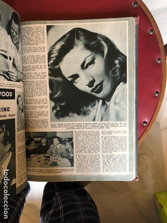 Cine: Lote de revistas camara, encuadernadas - Foto 12 - 198530458