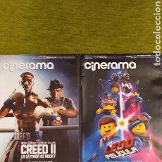 Cinema: LOTE 3 REVISTAS CINE. CINERAMA N° 278 Y 279. CINE2000 N° 201. Lote 198603711