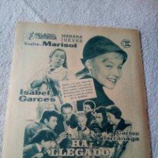 Cine: RECORTE PERIÓDICO PUBLICIDAD MARISOL AÑOS 60. Lote 198840433
