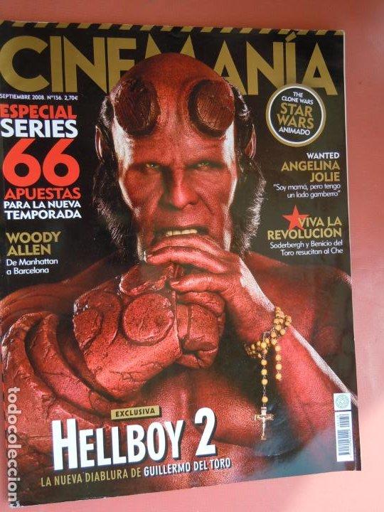 REVISTA CINEMANÍA Nº 156 - SEPTIEMBRE 2008 - STAR WARS - ANGELINA JOLY - WOODY ALLEN ... (Cine - Revistas - Cinemanía)