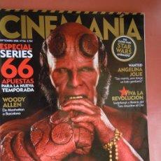Cine: REVISTA CINEMANÍA Nº 156 - SEPTIEMBRE 2008 - STAR WARS - ANGELINA JOLY - WOODY ALLEN .... Lote 198919231