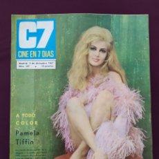 Cine: REVISTA C7 CINE EN 7 DÍAS. PAMELA TIFFIN, NUMERO 347. 1967.. Lote 198996001