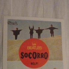 Cine: LOS BEATLES.SOCORRO HELP. UNITED ARTISTS. REPRODUCCION PROGRAMA?. Lote 199052027