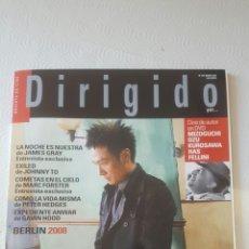 Cine: DIRIGIDO POR N° 376. Lote 199107841