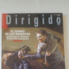 Cine: DIRIGIDO POR N° 380 JOHN FORD GEORGE ROMERO. Lote 199111058