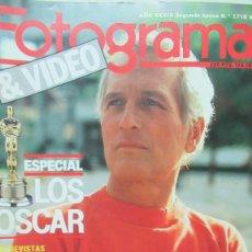 Cine: REVISTA FOTOGRAMAS NUMERO 1718 VICTORIA ABRIL. ANTONIO BANDERAS. LOS OSCARS DE 1986 JOHN HUSTON. Lote 199177991