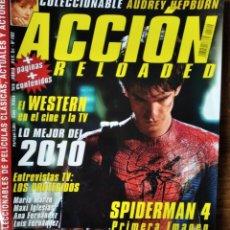 Cine: ACCION N 1102 D 2010- SPIDERMAN 4 VALOR DE LEY- AUDREY HEPBURN- DANNY BOYLE- DWAYNE JOHNSON THE ROCK. Lote 199267458