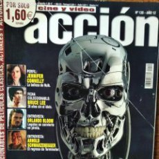 Cine: ACCION Nº 135 DE 2003- TERMINATOR 3- PIRATAS DEL CARIBE- HULK JENNIFER CONNELLY- BRUCE LEE- DRIVEN... Lote 199313335