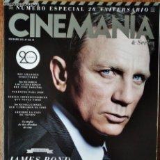 Cine: CINEMANIA Nº 242 DE 2015- ESPECIAL 20 AÑOS- JAMES BOND- SICARIO EMILY BLUNT- LOS JUEGOS DEL HAMBRE... Lote 199317962