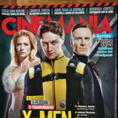 Cine: CINEMANIA Nº 189 DE 2011- X-MEN, RED LIGHTS, RESACON, CHARLOTTE GAINSBOURG, SAOIRSE RONAN, FALLING S. Lote 199350507