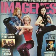 Cine: IMAGENES Nº 198 DE 2000- LOS ANGELES DE CHARLIE- ARNOLD SCHWARZENEGGER- WOODY ALLEN- HARRY POTTER.... Lote 199387681