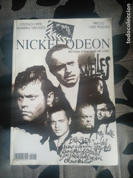 REVISTA NICKELODEON N 16 (Cine - Revistas - Nickel Odeon)