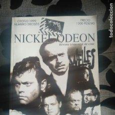 Cine: REVISTA NICKELODEON N 16. Lote 199415640