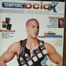 Cine: CANAL OCIO Nº 51 D 2005- VIN DIESEL- JET LI- CONNIE NIELSEN- VIDEOJUEGOS: FARENHEIT, KILLER 7.... Lote 199458173