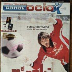 Cine: CANAL OCIO Nº 50 DE 2005- FERNANDO TEJERO- SERIE B -VIDEOJUEGOS: TEKKEN 5 GOD OF WAR- HELADOS NESTLE. Lote 199459265