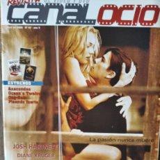 Cine: CANAL OCIO Nº 47 DE 2005- AMENABAR- SERIE B -VIDEOJUEGOS: SPLINTER CELL- DEVIL MAY CRY- JADE EMPIRE.. Lote 199461195