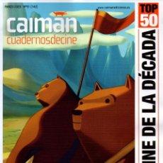 Cine: CAIMAN CUADERNOS DE CINE N. 91 MARZO 2020 - EN PORTADA: EL CINE DE LA DECADA 2010-2019 (NUEVA). Lote 199487516