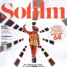 Cine: SOFILM N. 51 MAYO 2018 - EN PORTADA: NOLAN & KUBRICK (NUEVA). Lote 199487615