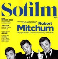 Cine: SOFILM N. 58 FEBRERO 2019 - EN PORTADA: ROBERT MITCHUM (NUEVA). Lote 199487680