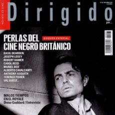Cine: DIRIGIDO POR... N. 493 NOVIEMBRE 2018 - EN PORTADA: PERLAS DEL CINE NEGRO BRITANICO (NUEVA). Lote 199487818