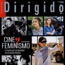 Cine: DIRIGIDO POR... N. 508 MARZO 2020 - EN PORTADA: CINE Y FEMINISMO (NUEVA). Lote 199487923