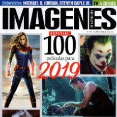 Cine: IMAGENES DE ACTUALIDAD N. 397 ENERO 2019 - EN PORTADA: 100 PELICULAS PARA 2019 (NUEVA). Lote 199488078