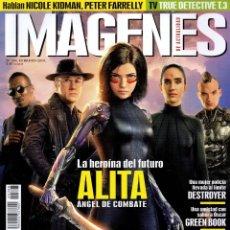 Cine: IMAGENES DE ACTUALIDAD N. 398 FEBRERO 2019 - EN PORTADA: ALITA, ANGEL DE COMBATE (NUEVA). Lote 199488168