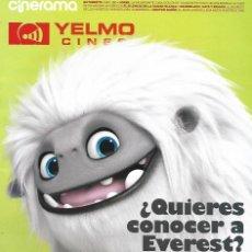 Cine: REVISTA CINERAMA YELMO CINES Nº 286 ABOMINABLE // DISPONIBLE:5. Lote 199672331