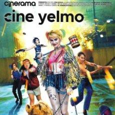 Cine: REVISTA CINERAMA YELMO CINES Nº 290 AVES DE PRESA HARLEY QUINN // DISPONIBLE:5. Lote 199672418