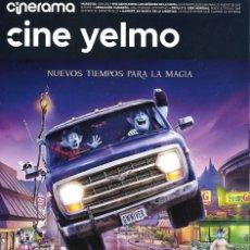 Cinema: REVISTA CINERAMA YELMO CINES Nº 291 ONWARD // DISPONIBLE:8. Lote 199672487