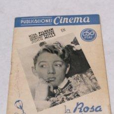 Cine: LA ROSA TUDOR. Lote 199810145