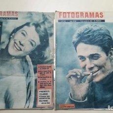 Cine: REVISTAS FOTOGRAMAS 1961 Y 1963. AUDREY HEPBURN Y ROBERT TAYLOR. Lote 199839900