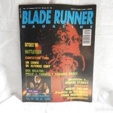 Cine: BLADE RUNNER MAGAZINE Nº 2 - SITGES 90, RICHARD STANLEY. Lote 199864431