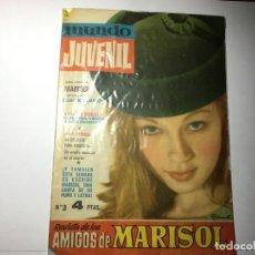 Cine: REVISTA MUNDO JUVENIL Nº 3 AMIGOS DE MARISOL. Lote 199949126