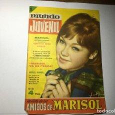 Cine: REVISTA MUNDO JUVENIL Nº 10 AMIGOS DE MARISOL. Lote 199949492