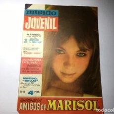 Cine: REVISTA MUNDO JUVENIL Nº 10 AMIGOS DE MARISOL. Lote 199949565