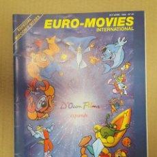 Cinéma: EURO-MOVIES INTERNATIONAL Nº 25, ESPACIAL MIPCOM Y SITGES OCTUBRE 1995. Lote 199984445