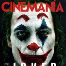 Cine: CINEMANIA N. 289 OCTUBRE 2019 - EN PORTADA: JOKER (NUEVA). Lote 217104183