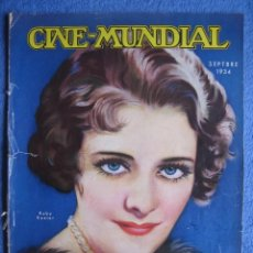 Cine: CINE MUNDIAL. SEPTIEMBRE 1934. RUBY KEELER. DOLORES DEL RÍO.. Lote 200258988