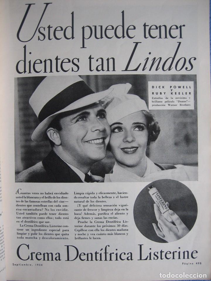 Cine: Cine Mundial. Septiembre 1934. Ruby Keeler. Dolores del Río. - Foto 2 - 200258988