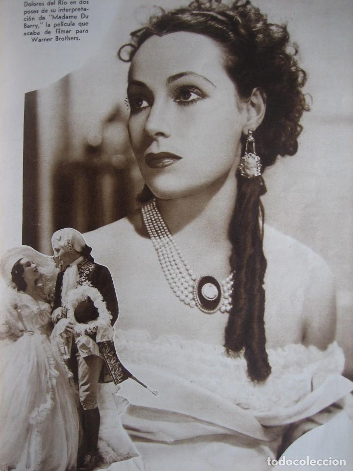 Cine: Cine Mundial. Septiembre 1934. Ruby Keeler. Dolores del Río. - Foto 3 - 200258988
