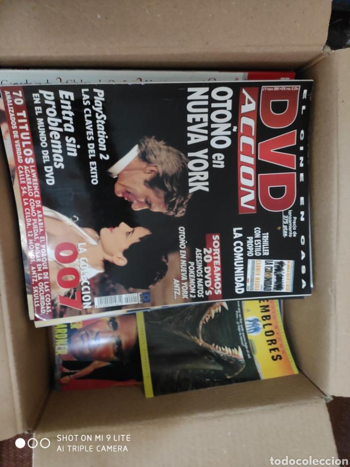 Cine: Lote de revista acción 12 números + alguna revista de cine de regalo y folletos - Foto 2 - 200288102