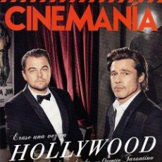 Cine: CINEMANIA N. 287 AGOSTO 2019 - EN PORTADA: ERASE UNA VEZ EN HOLLYWOOD (NUEVA). Lote 219123287