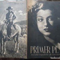 Cine: REVISTA PRIMER PLANO NÚMERO ESPECIAL 100 SEPTIEMBRE 1942, AMPARITO RIVELLES. Lote 201236203