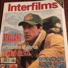 Cine: INTERFILMS N 60 AÑO 1993. Lote 201261216