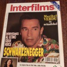Cine: INTERFILMS N 59 SCHWARZENEGGER. Lote 201262640