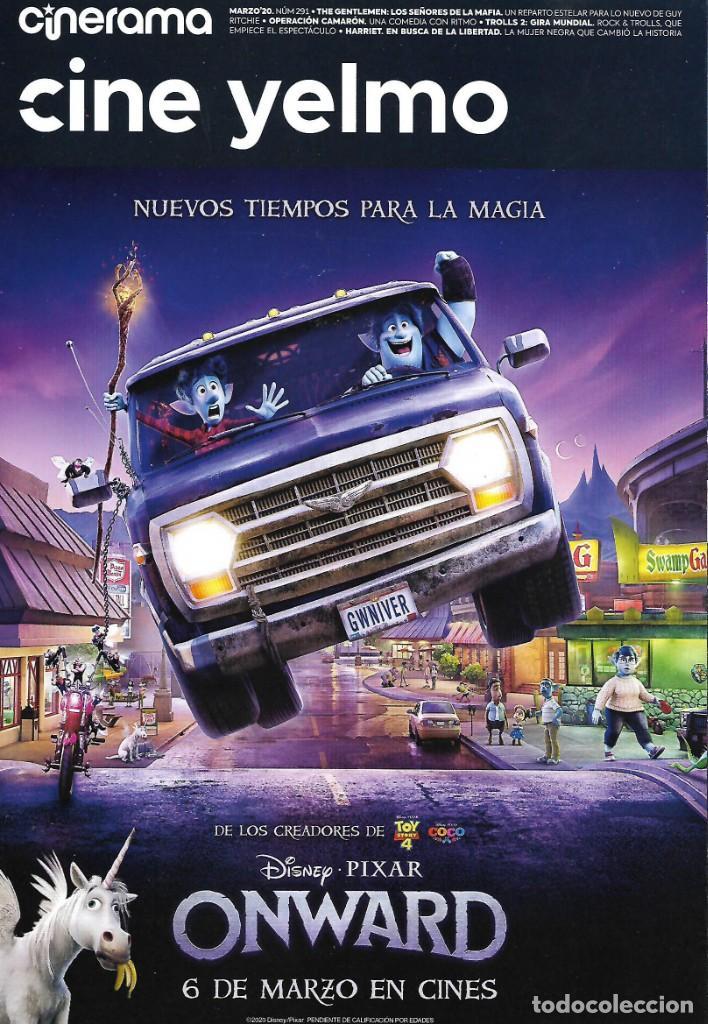 REVISTA CINERAMA YELMO CINES Nº 291 ONWARD // DISPONIBLE:7 (Cine - Revistas - Cinerama)