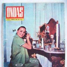 Cine: CARMEN SEVILLA. NATALIE WOOD. PILI Y MILI. REVISTA ONDAS 1964.. Lote 201326058