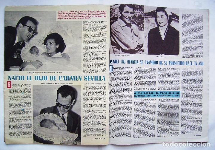 Cine: CARMEN SEVILLA. MARUJITA DÍAZ. ANTONIO GADES. JOHN WAYNE. REVISTA ONDAS 1964. - Foto 4 - 201338217