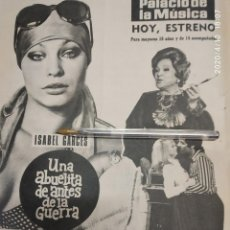 Cine: UNA ABUELITA DE ANTES DE LA GUERRA ISABEL GARCES NADIUSKA ALBERTO DE MENDOZA. Lote 202277828